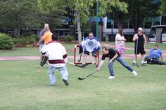 The game is heating up! Luckily Dovetail's goalie is a great player!