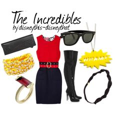 The Incredibles, created by disneythis-disneythat on Polyvore