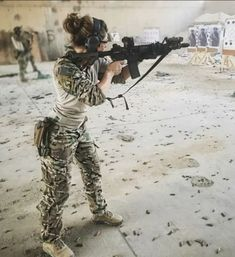 Airsoft hub is a social network that connects people with a passion for airsoft. Talk about the latest airsoft guns, tactical gear or simply share with others on this network By Any Means Necessary, Military Women, Military Army, Female Soldier, Army Soldier, Big Guns, Badass Women, Special Forces, Airsoft