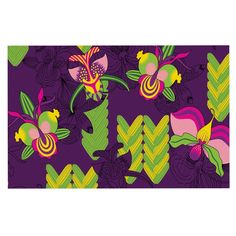 KESS InHouse Yenty Jap 'Orchids Festival' Purple Green Dog Place Mat, x * You can find out more details at the link of the image. (This is an affiliate link and I receive a commission for the sales) Dog Food Container, Kitchen Tools And Gadgets, Dog Care, Floor Pillows, Decorative Throw Pillows, Pet Dogs, Dog Food Recipes, Orchids, 3 D