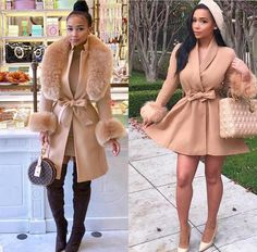 Lila Outfits, Dressy Outfits, Chic Outfits, Bad And Boujee Outfits, Winter Fashion Outfits, Fall Winter Outfits, Autumn Fashion, Elegantes Outfit Frau, Bougie Black Girl
