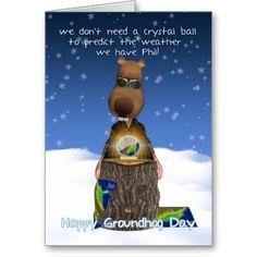 Groundhog day card happy groundhog day card m4hsunfo