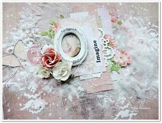 Imagine layout - project made by Elena Tretiakova for More Than Words  http://elena-3cards.blogspot.ru
