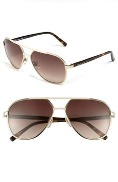 MICHAEL Michael Kors 'Tristan' 59mm Aviator Sunglasses available at #Nordstrom