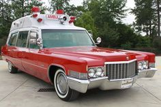 1970 Hightop Cadillac Ambulance