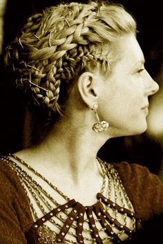 Lagertha braids from Vikings.