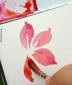 A simple floral tutorial using the basic stroke. Pardon the sketchy shapes - I had the phone blocking my view while painting this. I'll…