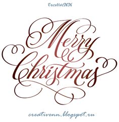 Free digital stamps. Word Art. Merry Christmas! Happy New Year! Labels for…