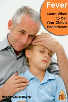 If your child has a #fever, learn when you should call the pediatrician. Visit www.HealthyChildren.org. #temperature