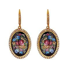 Axenoff Jewellery » Earrings «Solovushka mini»