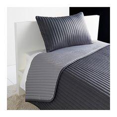 KARIT Päiväpeitto+tyynynpäällinen - 180x280/40x65 cm - IKEA