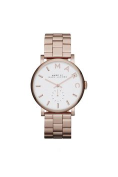 Marc by Marc Jacobs Baker 36MM Watch in #rosegold