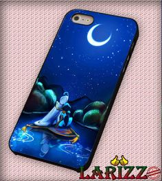 """Aladdin and Jasmine for iPhone 4/4s, iPhone 5/5S/5C/6/6 , Samsung S3/S4/S5, Samsung Note 3/4 Case """"007"""""""