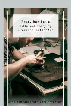 PREMIUM quality leather accessories for gift idea! Handcarved leather bag, leather wallet made of genuine leather. Selected high quality leather bag with unique designs. Check out my shop for more: etsy.com/shop/steixnerleatherart  #engravingideas #engravedgifts