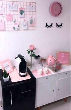 Home Beauty Salon, Beauty Salon Decor, Beauty Salon Interior, Salon Interior Design, Home Salon, Spa Room Decor, Beauty Room Decor, Home Decor, Makeup Studio Decor
