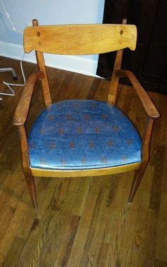 Kipp Stewart Drexel Declaration Dining Mid Century Chair Danish Eames | eBay