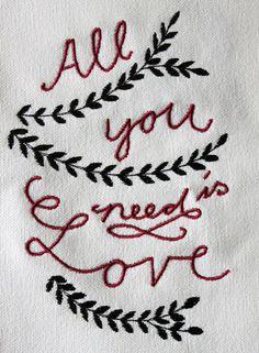"""Stickdatei  """"All you need.is Love....."""" 3 Dateien von  """"FeinKram""""  hier gibt es die schönsten Scherenschnitt StickDateien ;-))) auf DaWanda.com"""