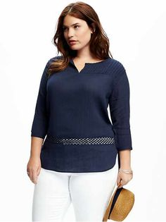 Plus Size Shirts   Old Navy