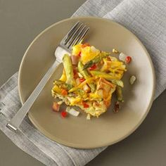 Spring Morning Casserole Recipe from Taste of Home
