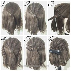 Neat easy prom hairstyle tutorials for girls with short hair The post easy prom hairstyle tutorials for girls with short hair… appeared first on Amazing Hairstyles .