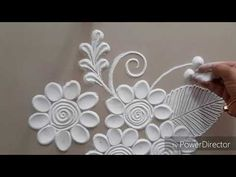 Very easy and innovative Rangoli design by Aarti shirsat Rangoli Borders, Rangoli Border Designs, Colorful Rangoli Designs, Rangoli Designs Diwali, Diwali Rangoli, Creative Wall Painting, Creative Walls, Rangoli Designs For Competition, Free Hand Rangoli Design