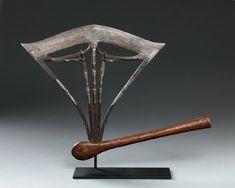 Artworks | Pace African & Oceanic Art Art Sites, Ocean Art, Republic Of The Congo, African Art, Copper Wood, Artworks, Iron, Guns, Art Pieces