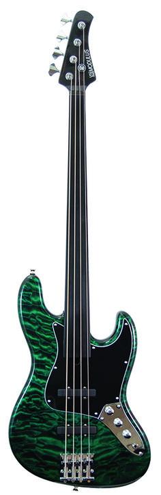 Modulus Vintage J Fretless Bass