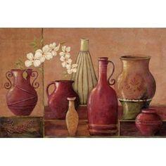Glazed Spice Canvas Art - Jo Moulton (12 x 18)