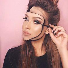 Wir lieben Anastasia Beverly Hills und The Subculture Palette! Make-up FOMO ist Ihr One-Stop-Shop fü Mask Makeup, Face Paint Makeup, Eye Makeup Art, Scary Makeup, Costume Makeup, Sfx Makeup, Cool Makeup Looks, Pretty Makeup, Amazing Halloween Makeup