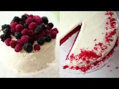 Yaş Pasta Kreması Tarifi Videolu - Krem Peynirli Kaplama