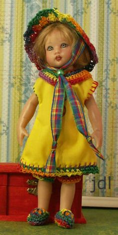 Handmade outfit for Riley Kish by JDL Doll Clothes