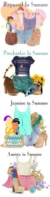 Disney princesses summer clothes