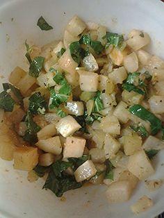 "Kohlrabi and turnips! ""Very delicious""  @allthecooks #recipe"
