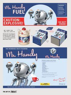 Fallout 4 | Concept Mr. Handy