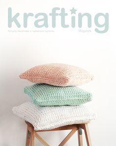 Pillow knitting