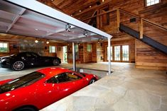 The Most Amazing Garage Ever.... Ultimate man cave and sports car showcase