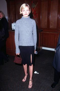 chunky knit w/ skirt