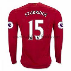Neues Liverpool 2016-17 Fussball Trikot Sturridge 15 Langarm Heimtrikot Shop