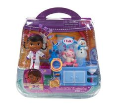 Includes Over 10 Piece - Disney Doc McStuffins Magic Check Up Center by Disney. $67.99. Disney Doc McStuffins Magic Check Up CenterEverything Doc McStuffins needs to run her clinic, and three little creatures for her to treat. Place Lambie,Stuffy,& Chilly on the checkup table to magically hear them talkPlay with and help Doc McStuffins bring her toys to life with her magical stethoscope in this Disney Doc McStuffins Clinic Playset.Dimensions: 9 x 2 x 6 inchesDisclosure: Sugge...