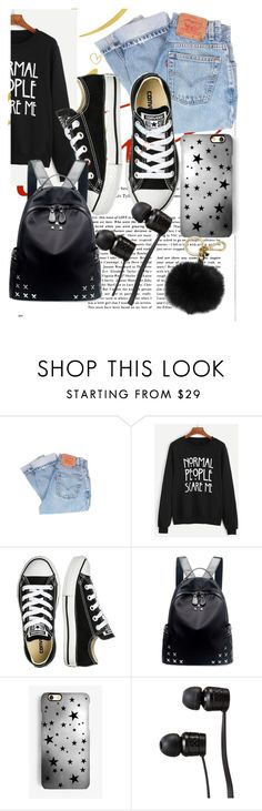 """""""Untitled #46"""" by ruth-jaimie-hollingsworth on Polyvore featuring Levi's, Converse, Chicnova Fashion, Rianna Phillips, Vans and MICHAEL Michael Kors"""