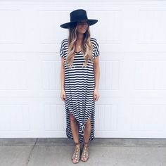 Striped Maxi Dress Colors) - Gunny Sack and Co. Source by dress outfit Dress Outfits, Casual Dresses, Fashion Outfits, Formal Outfits, Dresses Dresses, Dress Fashion, Dresses Online, Office Outfits, Long Dresses