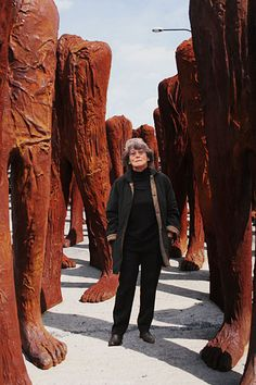 Magdalena Abakanowicz was born in Falenty, Poland on June 20th, 1930. According to Wikipedia, she was born into an aristocratic Polish-Russian family. Her mother, who was Polish, had roots connecte...
