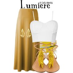 """Lumiere"" by sofiaamorena on Polyvore"