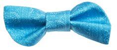 Turquoise Taimi print bow || Turkoosi rusetti