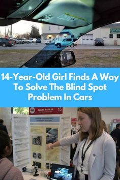 #Year #Old #Girl #Way #Solve #Blind #Spot #Problem #Cars