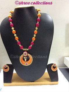 23 Best Jhanvi Hand Crafts Silk Thread Bangles Ear Rings