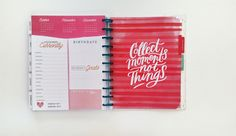 'Stay Golden' talk-through with mambi Design Team member Nicole Lensen for the Feb 22nd Happy Planner™ BLOG HOP | noviventure.com