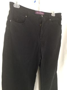 Details about White Stag Shorts Black Size 16 Waist 36 Rn 19747 ...