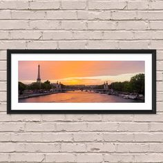 Paris Photography, Pont Alexandre III and Eiffel Tower - Wall Art, Panorama, Panoramic, Limited Edition Fine Art Print, Signed and Numbered by DavidBriardPhoto on Etsy https://www.etsy.com/listing/242822434/paris-photography-pont-alexandre-iii-and