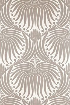 Influenced by Arts and crafts, but still think it would work well in a Deco apt. Lotus from Farrow and Ball